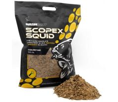 Nash Scopex Squid Flake-Drvené boilies 5kg